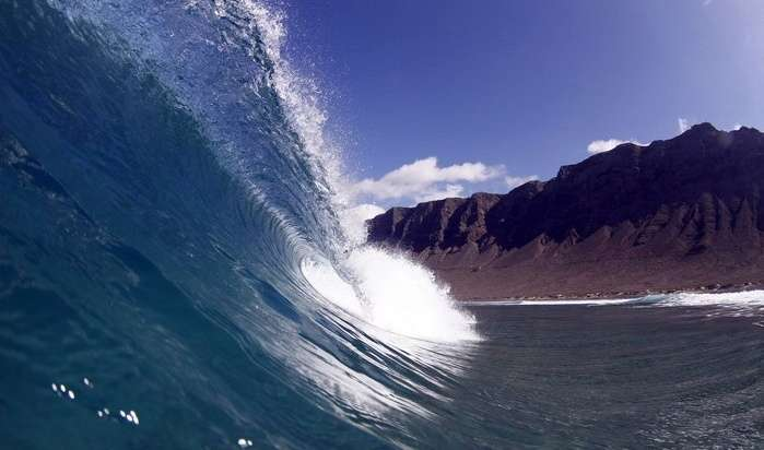 Wave in Lanzarote