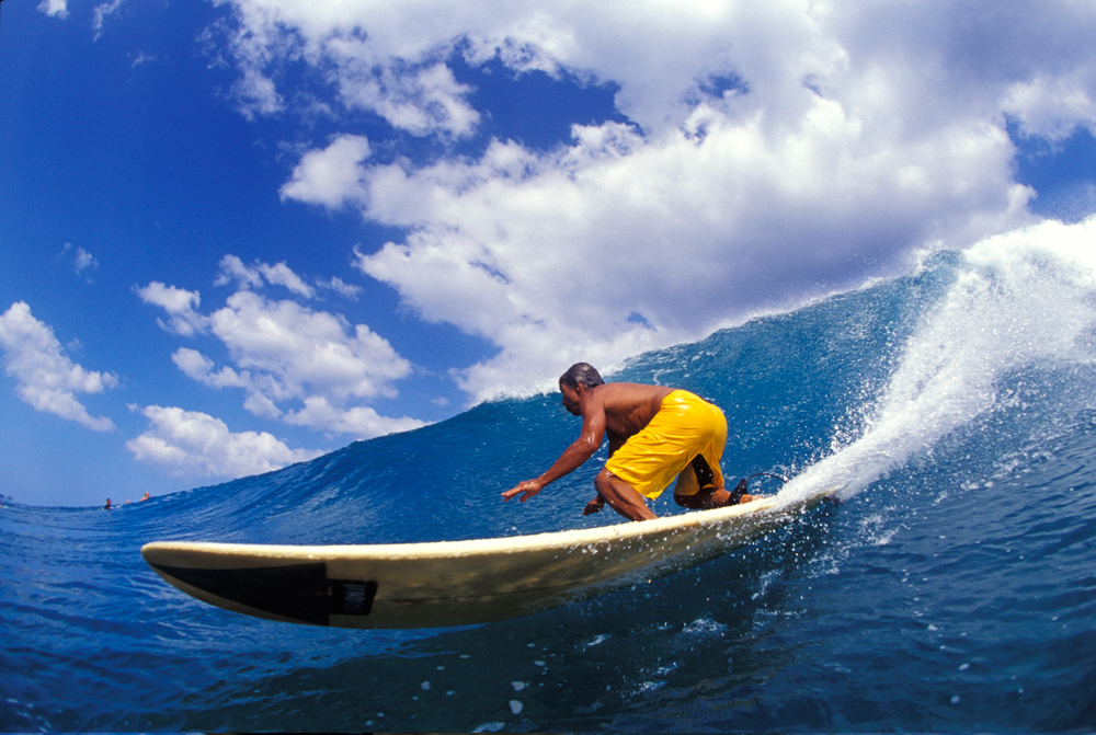 Surfing Hawaii